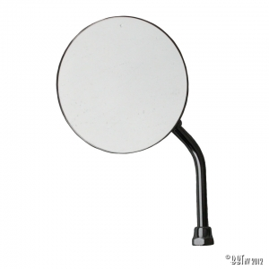 Mirror, universal, left or right, with assembly kit, each