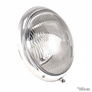 European headlight