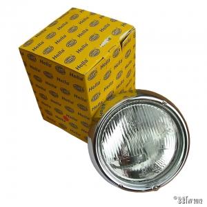 Headlight with rim Hella, e-marked