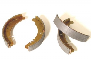 Brake shoes front Type1 front 65- / rear 68- (Ate)