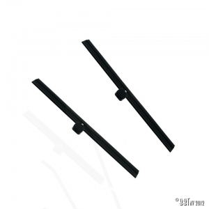 Wiper blades, black, pair, 24.50cm