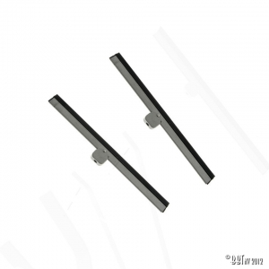Wiper blades, grey, pair, 18.50cm