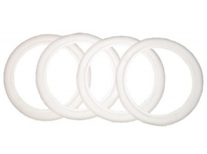 White wall ring 12 inch