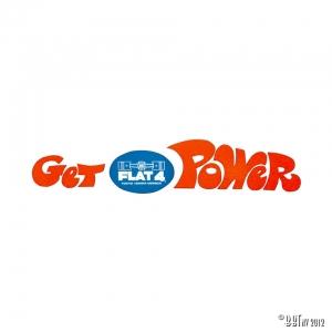 F4 STICKER ''GET POWER''